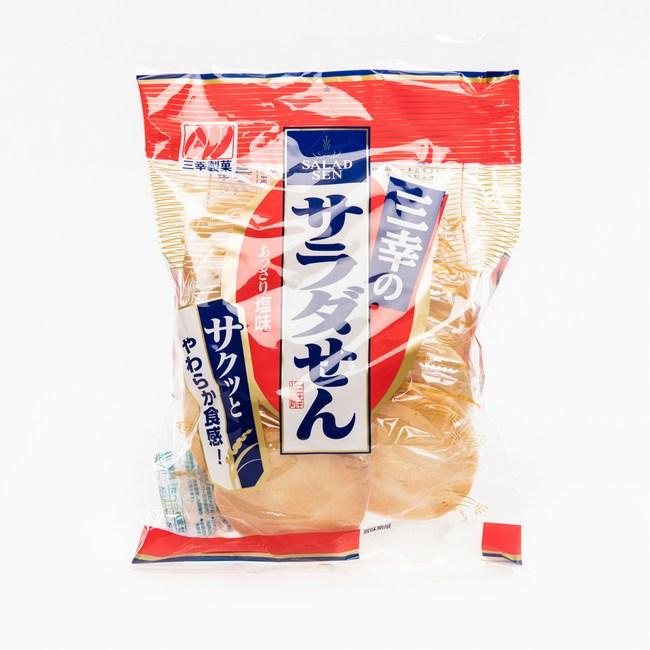 日本三幸薄鹽仙貝