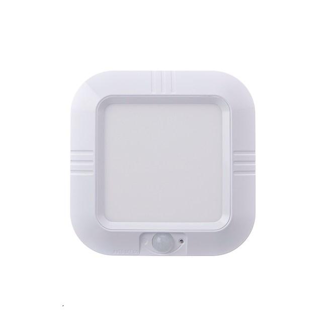 LED感應式吸頂夜燈-白光(電池式)