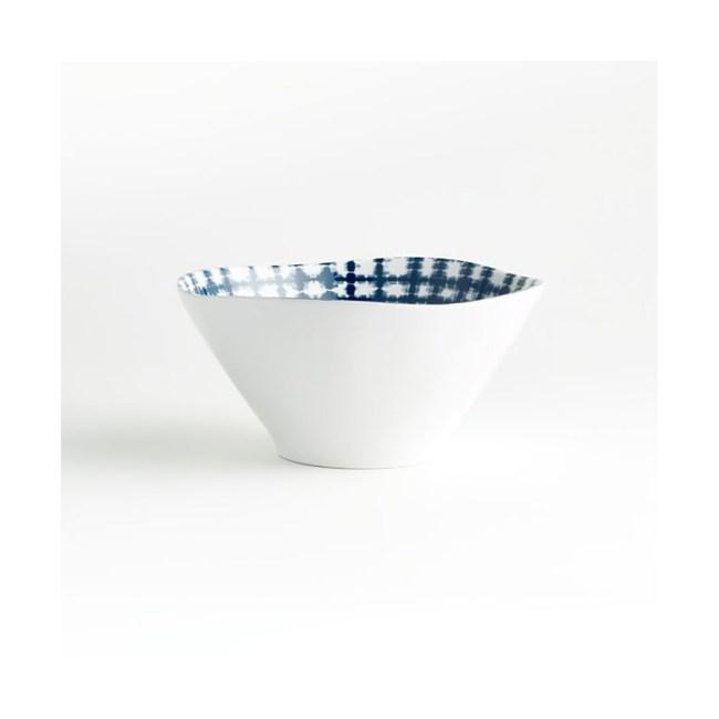 Crate&Barrel Marin 美耐皿碗 藍染 15cm