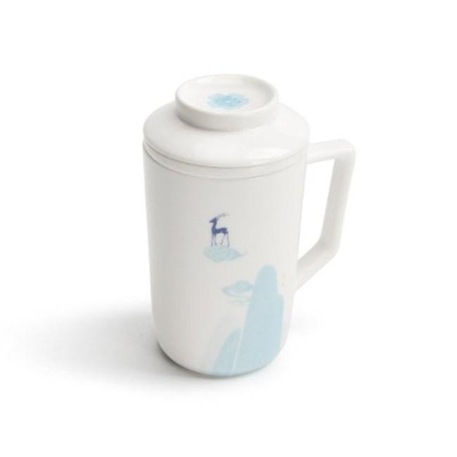 九色鹿陶瓷馬克杯360ml