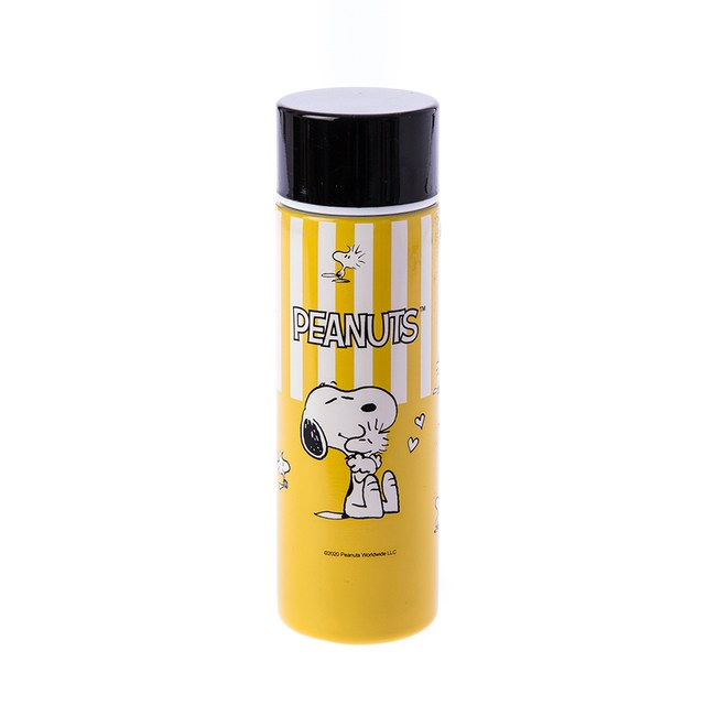 HOLA 史努比 Snoopy系列復古雙層不鏽鋼口袋杯135ml-黃