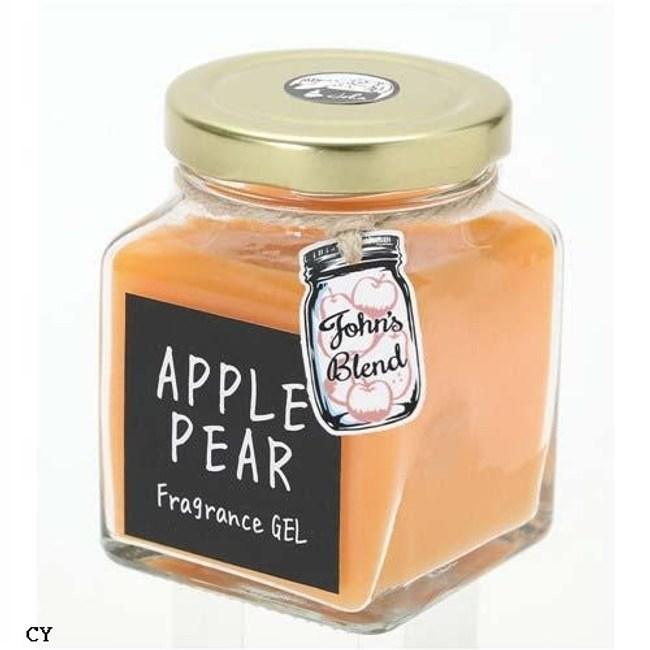 日本John's Blend室內居家香氛膏-蘋果梨135g-3入