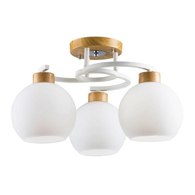 【大巨光】北歐風3燈半吸頂燈-中(BM-31014)