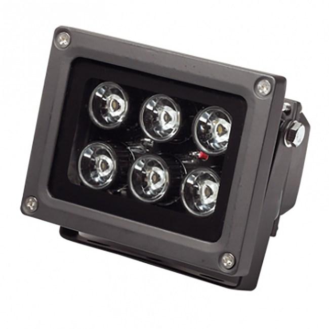 LED 6珠10W方形投射燈 (暖白光)