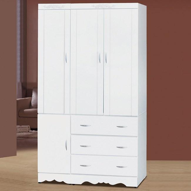 【YFS】柏格4x7衣櫃-112x57x199cm