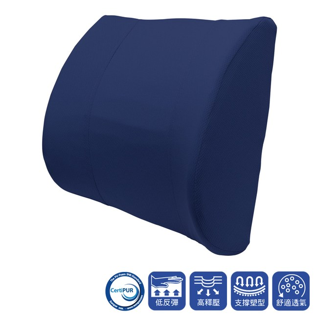 HOLA 高密度抗菌健康舒適釋壓腰墊