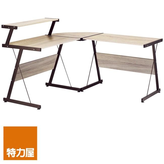 特力屋 查里士L型電腦桌 採E1板材