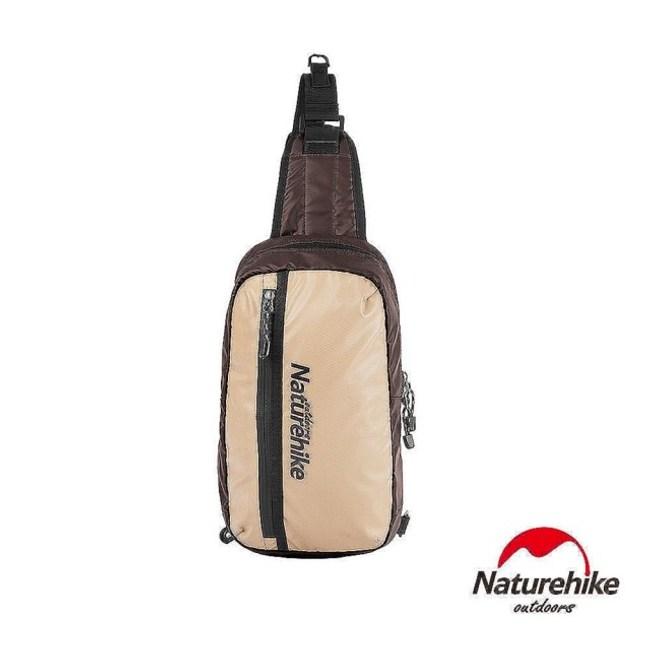 Naturehike 8L戶外輕量單肩斜背包 風行包咖啡