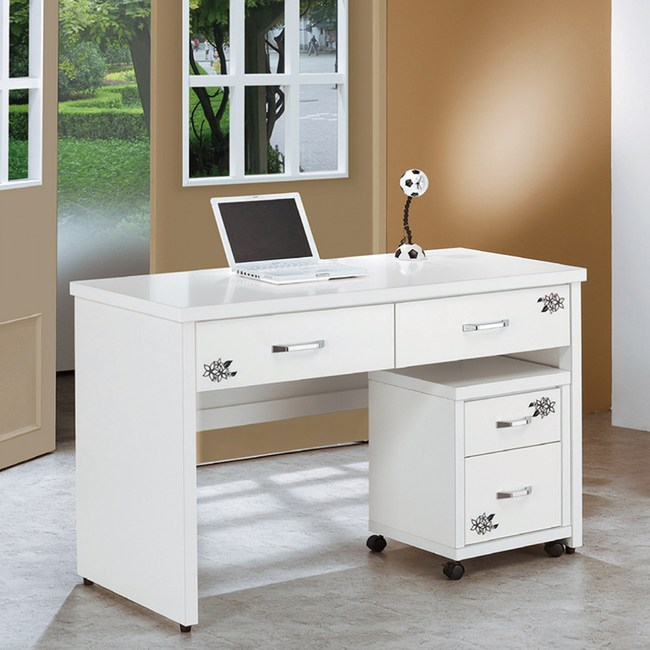 【YFS】希拉4.2尺書桌-126x60x81cm
