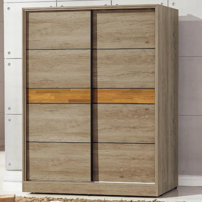 【YFS】馬克5x7尺衣櫃-150x60x197cm