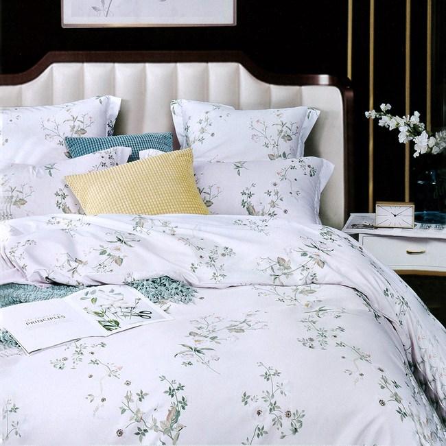 【Indian】新科技天絲雙人加大五件式床罩組-歲月靜語(吸濕排汗)6*6.2
