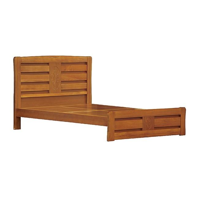 【YFS】艾德3.5尺實木排骨床台-109x195.5x106cm