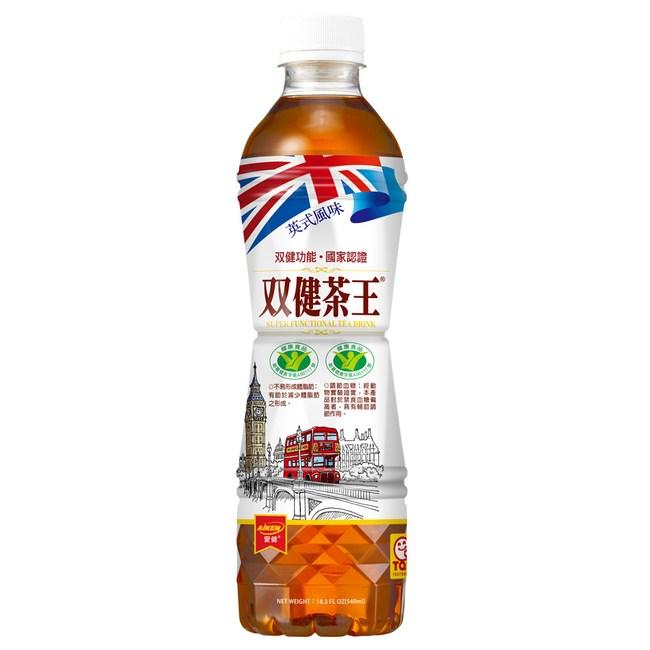 愛之味 双健茶王蜜香烏龍540ml(24瓶/箱)*1箱組-雙健字號認證