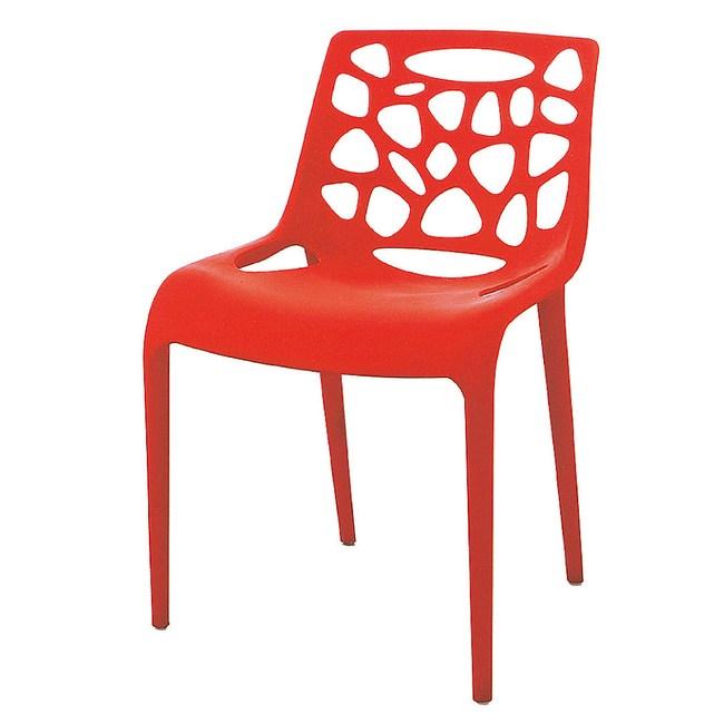 【YFS】蓓姬紅色休閒椅-55x46x79cm