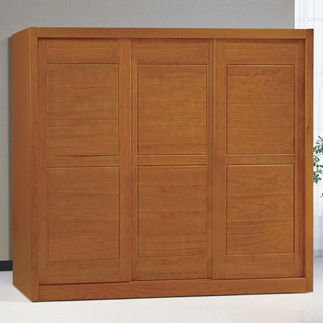 【YFS】愛德華7尺實木衣櫃-212x62.6x201cm