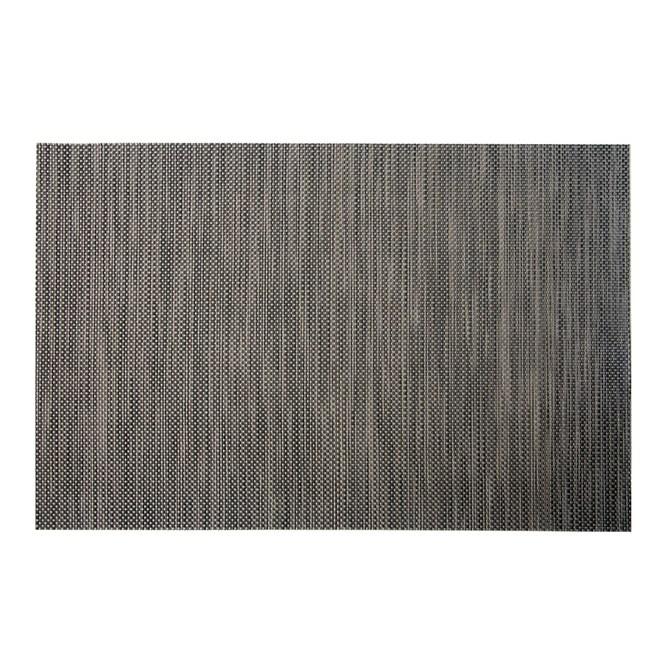 HOLA PVC編織餐墊30x45cm 簡約黑咖