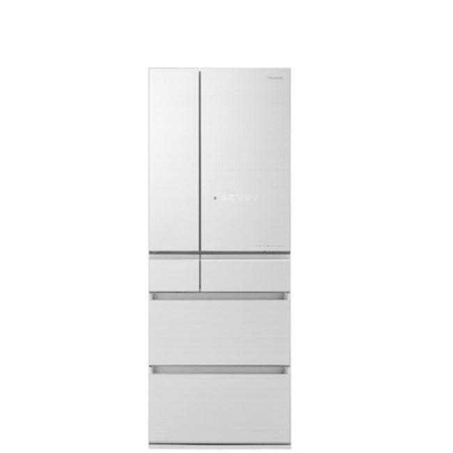 國際牌600公升六門變頻冰箱翡翠白NR-F605HX-W1
