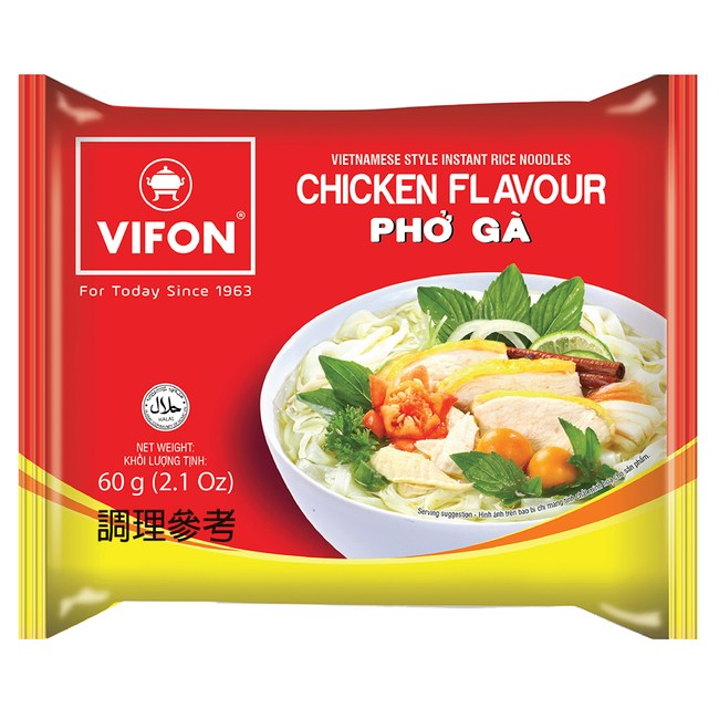 【VIFON味豐】越南 越式雞肉風味河粉 60gx16包/組