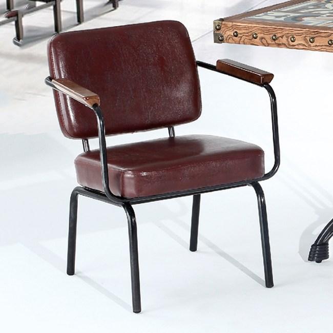 【YFS】柯帝皮面餐椅-61x56x74cm