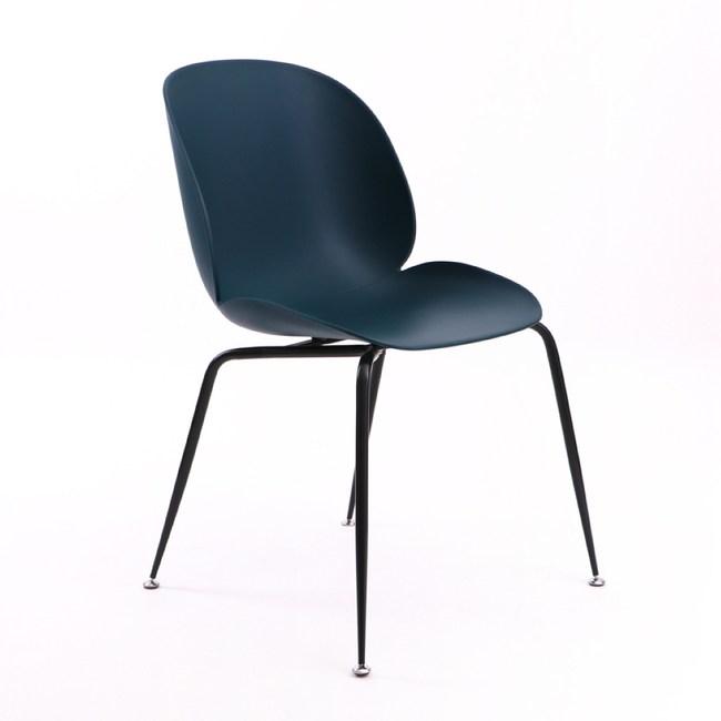 【IDEA】諾歐原創奢華流線經典休閒椅(餐椅/戶外椅)午夜藍