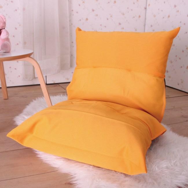 伊登 巧樂 單人和室椅(橘)