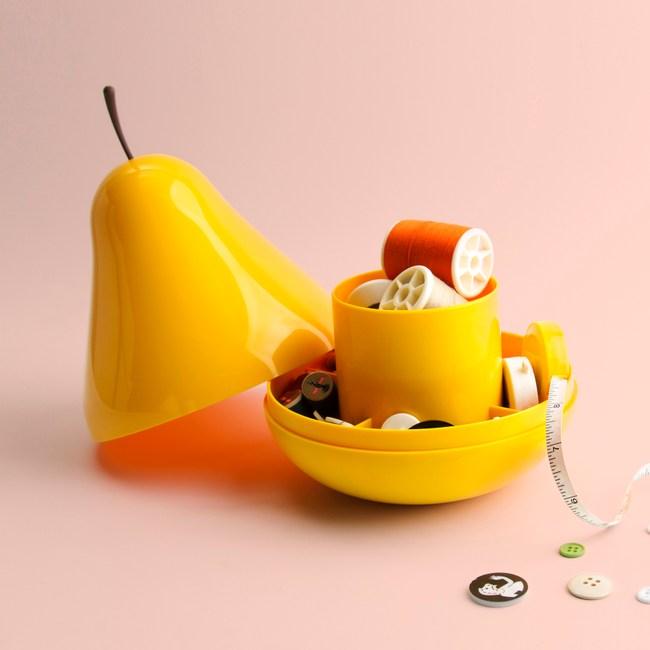 QUALY|西洋梨-置物盒(黃)