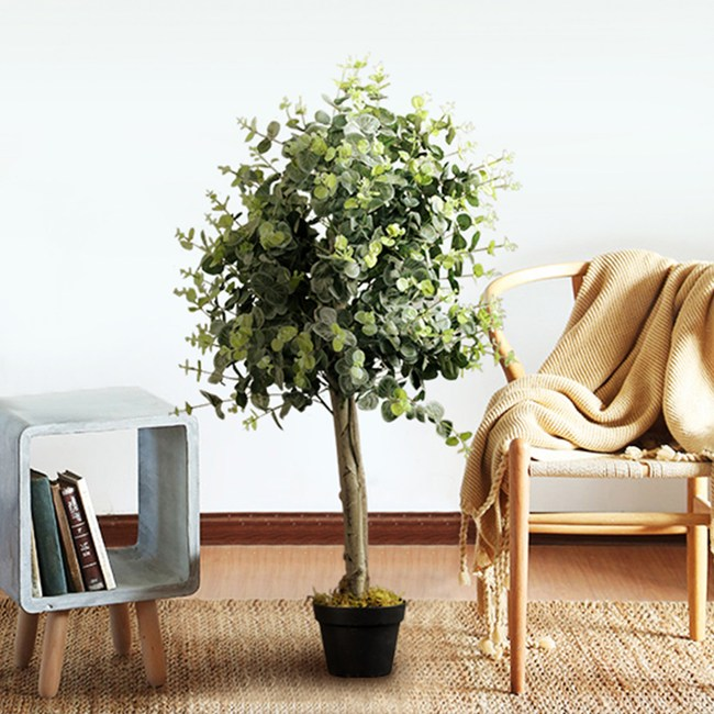 【Meric Garden】北歐風格居家高仿真大型景觀植栽(金錢樹)
