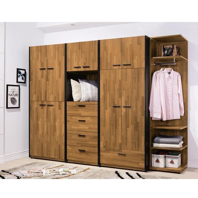 科隆8.5尺系統式衣櫥