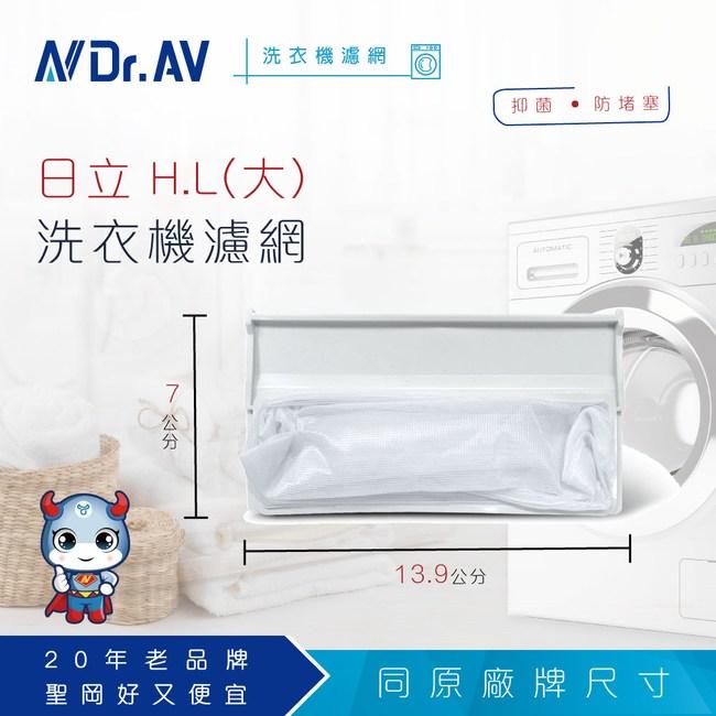 【N Dr.AV聖岡科技】日立H.L(大)洗衣機濾網(中)