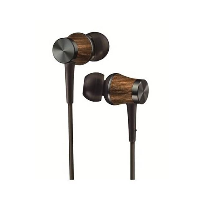 【送收納盒】JVC HA-FW7 黑 WOOD DOME 木製耳機系列耳道式耳機