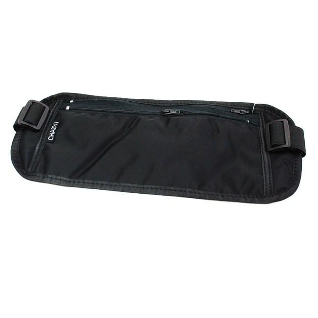 【PUSH!嚴選】超薄腰包 防搶腰包 護照包 隱形腰包(CHAOYI)U20-1