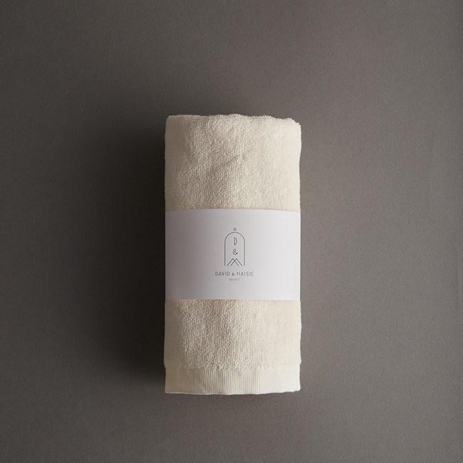 DAVID & MAISIE 100%純棉柔軟毛巾 樸實米