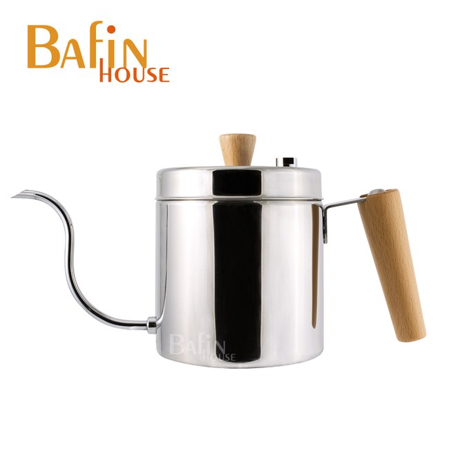 【Bafin House】天鵝 棉花罐 不鏽鋼手沖壺(600ml)
