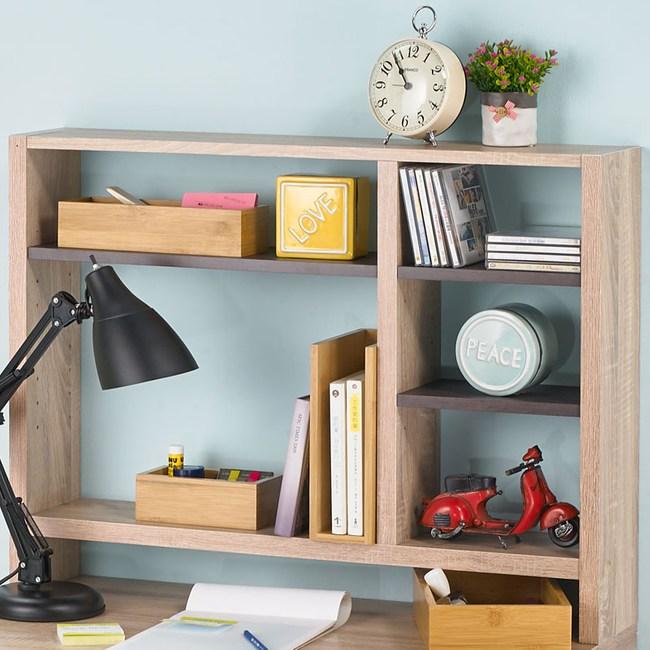凱莉桌上型書架 HS-01011 80x16x60cm [可搭配同系列簡易書桌]