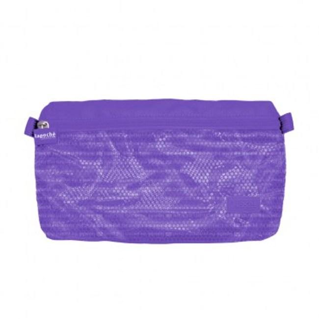 Lapoche 防潑水收納包(小)-紫