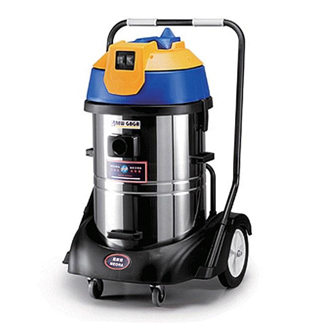 【NEORA尼歐拉】60公升不銹鋼桶雙馬達乾濕兩用吸塵器 AS-800