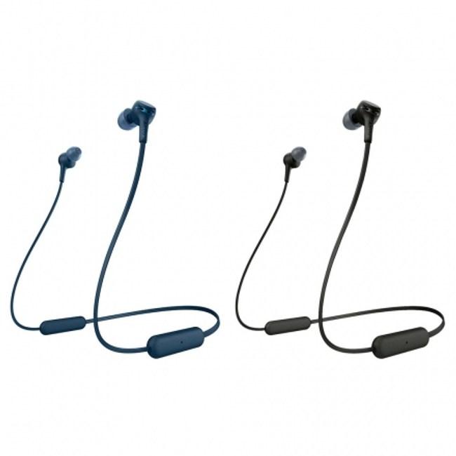 SONY WI-XB400 無線藍芽入耳式耳機藍色