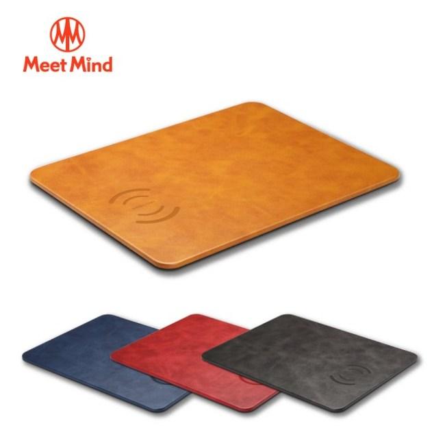 MeetMind 10W 無線充電滑鼠板 薔薇