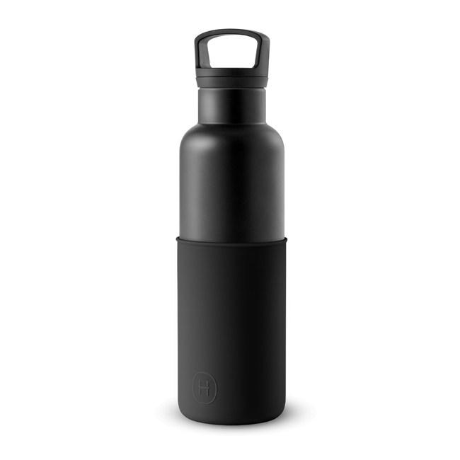 【HYDY】時尚保溫瓶 午夜黑-黑瓶 (590ml)