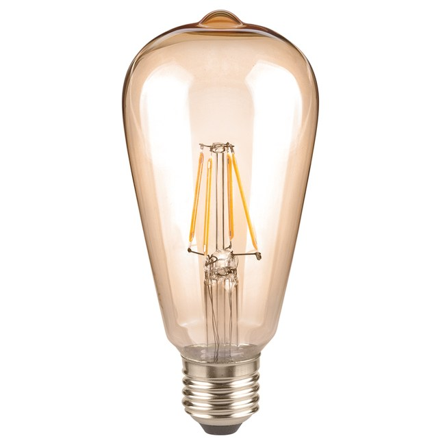 特力屋 仿古LED燈絲燈泡 6.5W 琥珀玻璃 全電壓