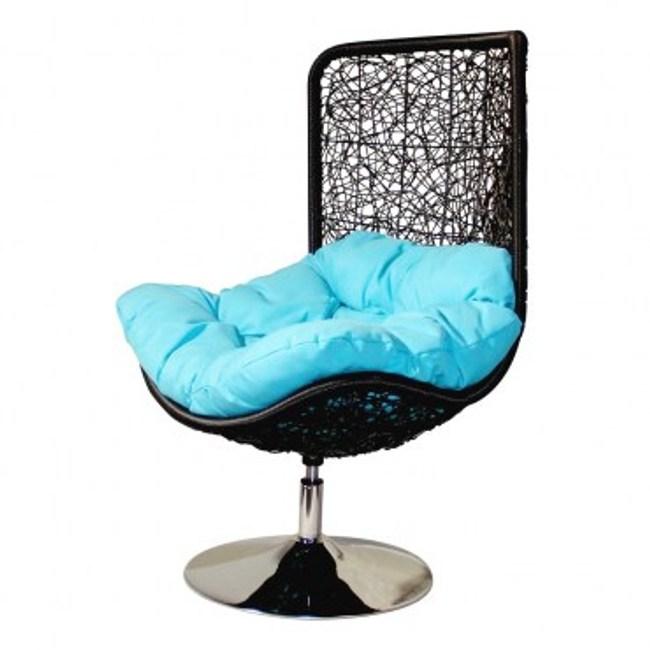 薩曼莎可旋轉編織椅
