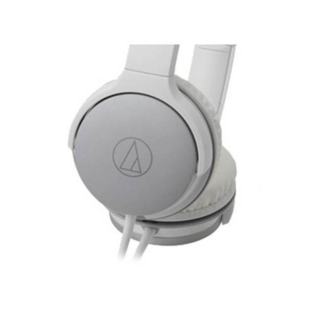 鐵三角 ATH-AR1 白色 摺疊耳罩式耳機 輕量級