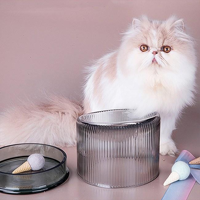 JohoE嚴選 寵物碗兩用玻璃碗