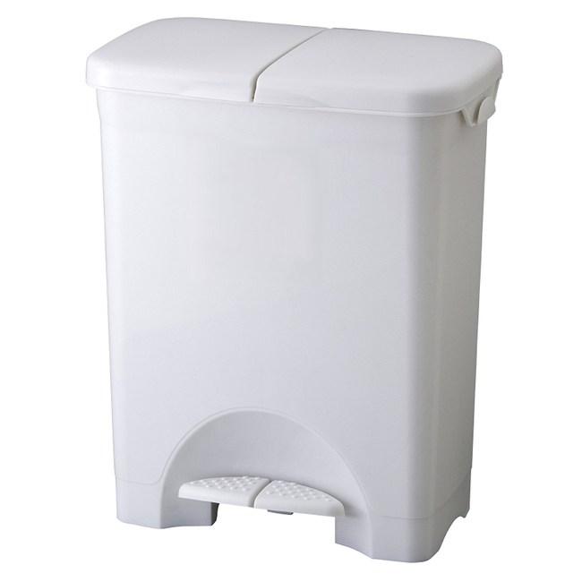 【日本RISU】H&H二分類防水垃圾桶 45L