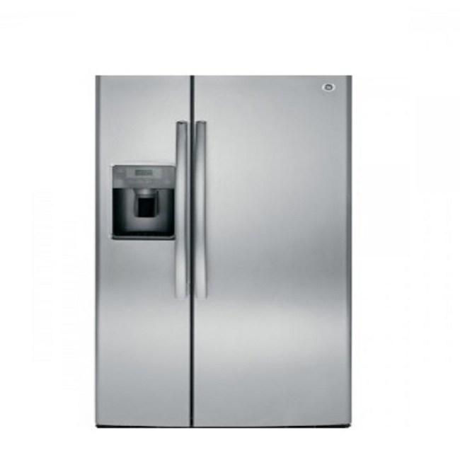 GE 美國 奇異 GSS23HSSS 702L 對開門冰箱 不鏽鋼灰色