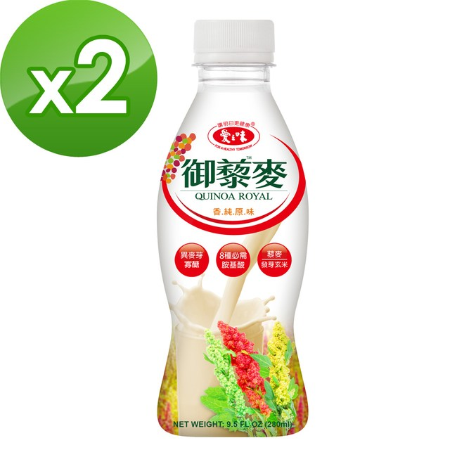 【愛之味】御藜麥280ml(24入/箱)x2箱