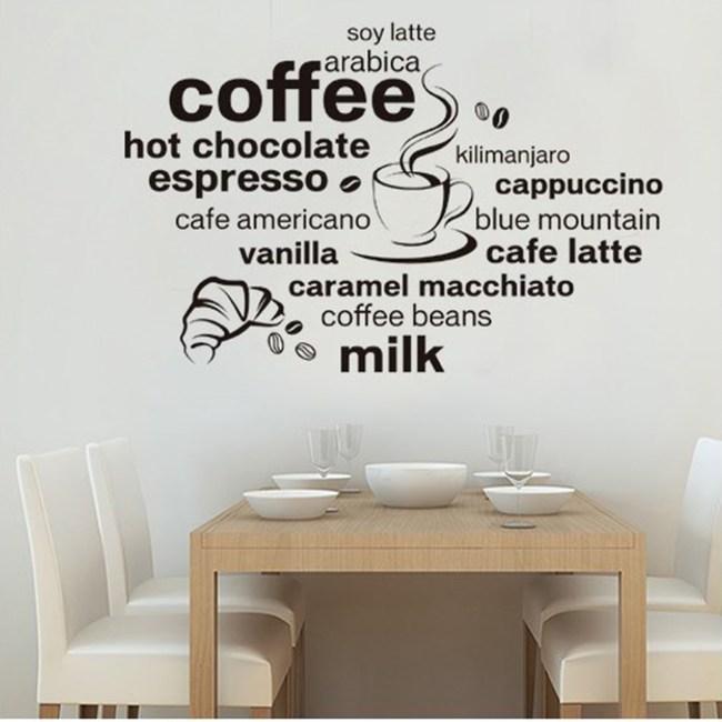 【Loviisa coffee milk】無痕壁貼 壁紙