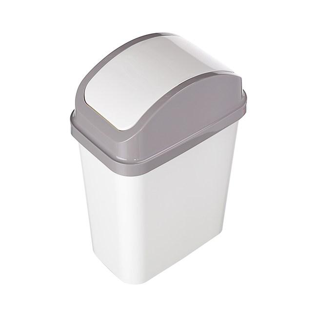 米亞搖蓋垃圾桶15L