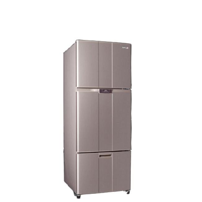 聲寶455公升三門變頻冰箱SR-B46DV(R6)