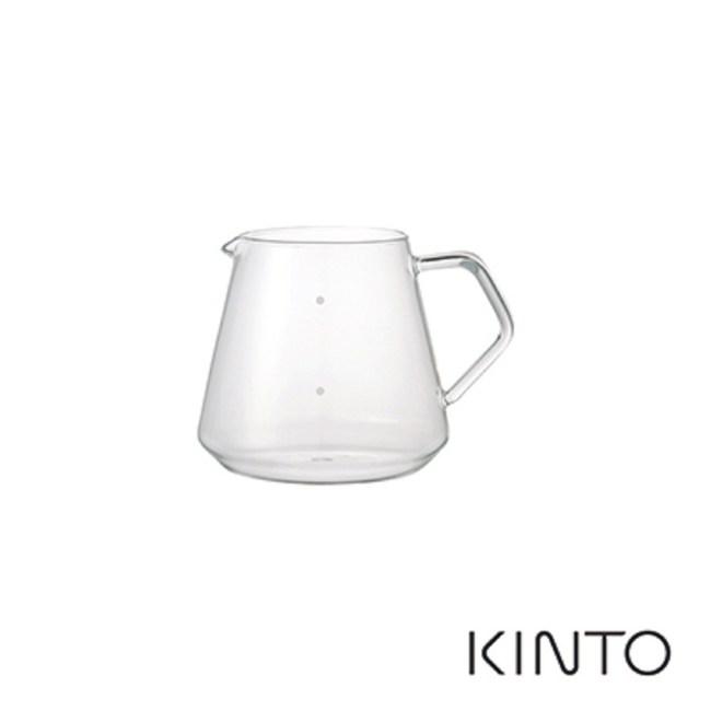 日本KINTO SCS經典玻璃咖啡下壺600ml